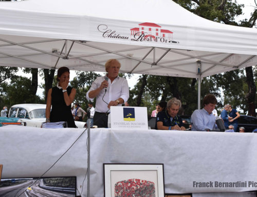 A very first car auction sale this October 6 at Château Réal D'Or